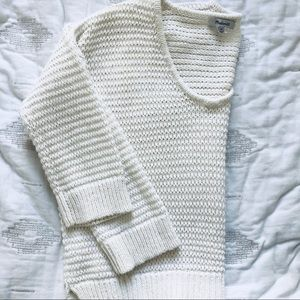 Madewell Knit V Neck Sweater Size XS